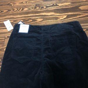 Charter Club Jeans - NWT Charter Club black velvet skinny jeans